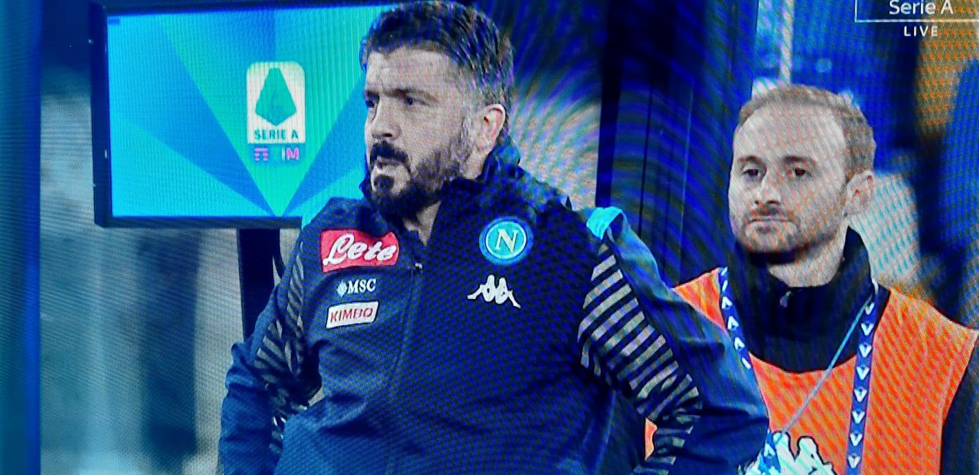 """Gattuso: """"Callejon non è riuscito a riempire l'area, Insigne deve farlo molto di più"""""""