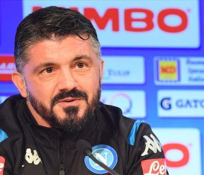 Gattuso: «Sento parlare di smantellamento, ma chi ha comprato a gennaio quanto il Napoli?»