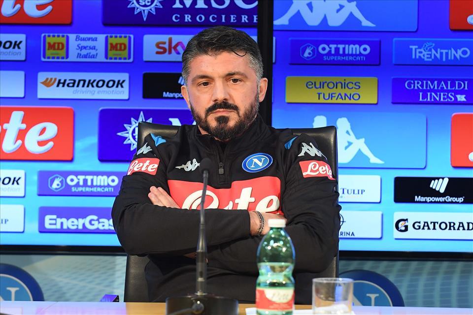 Gattuso: «Vorrei il mio Napoli come l'Inter di Conte. Vedo un ambiente freddo, lavoro per farlo tornare caldo»