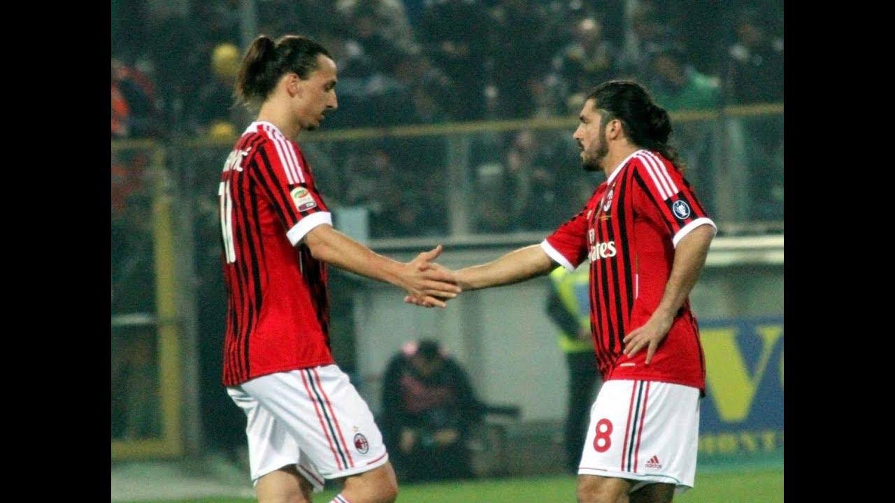 Questa sera Gattuso ritroverà contro il suo ex compagno Ibrahimovic