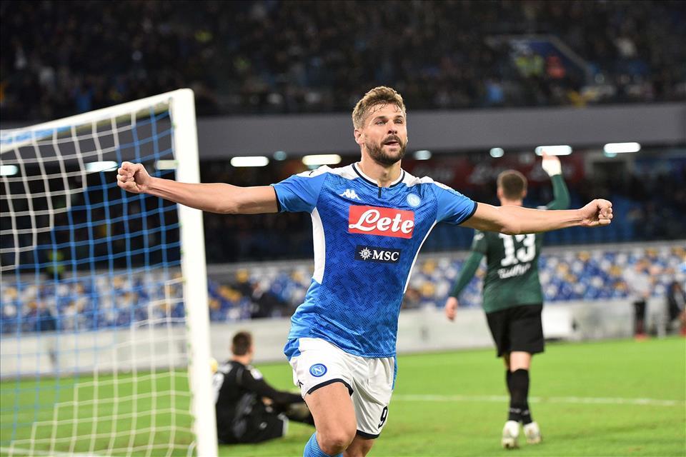 Sky Sport: a Udine Lozano e Llorente in attacco, Elmas a destra al posto di Callejon