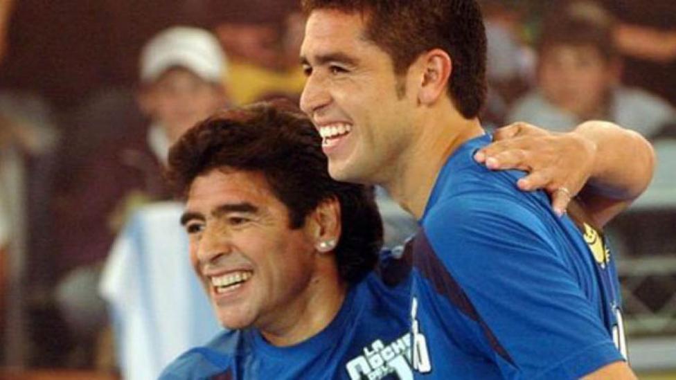 Riquelme batte Maradona alle elezioni per il presidente del Boca