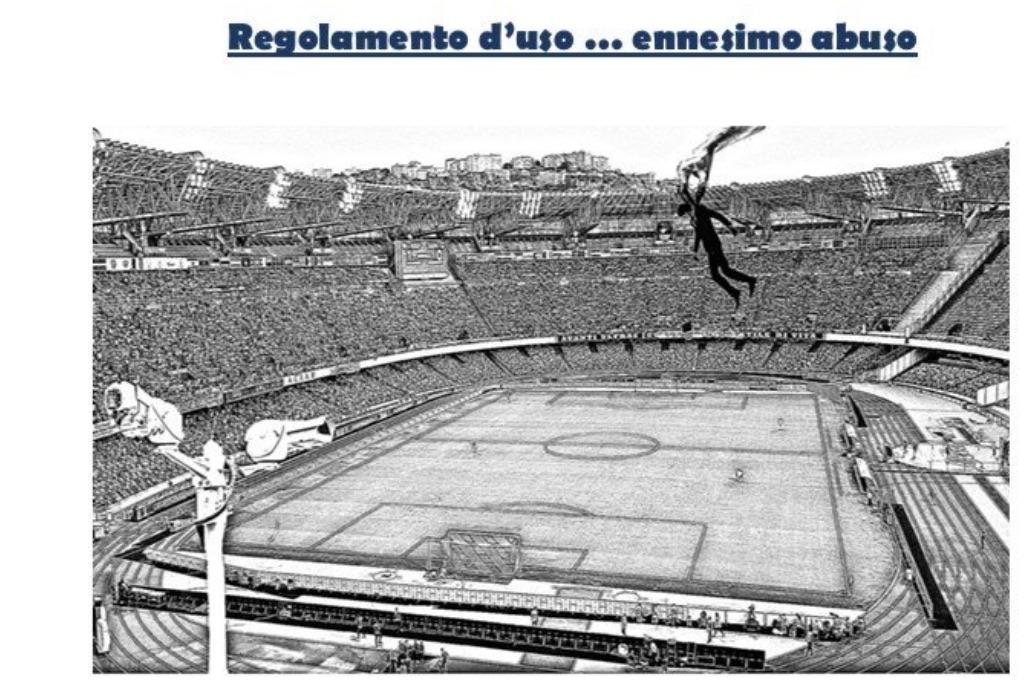 La curva A non sarà più allo stadio: «Vogliono allontanare il popolo dal San Paolo»
