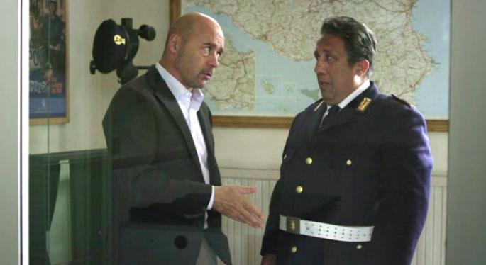 Dialogo tra Montalbano e Catarella (ed il mare)