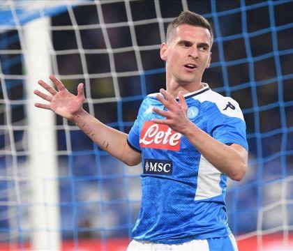 Le 10 cose da ricordare di Napoli Fiorentina:  Milik come Cr