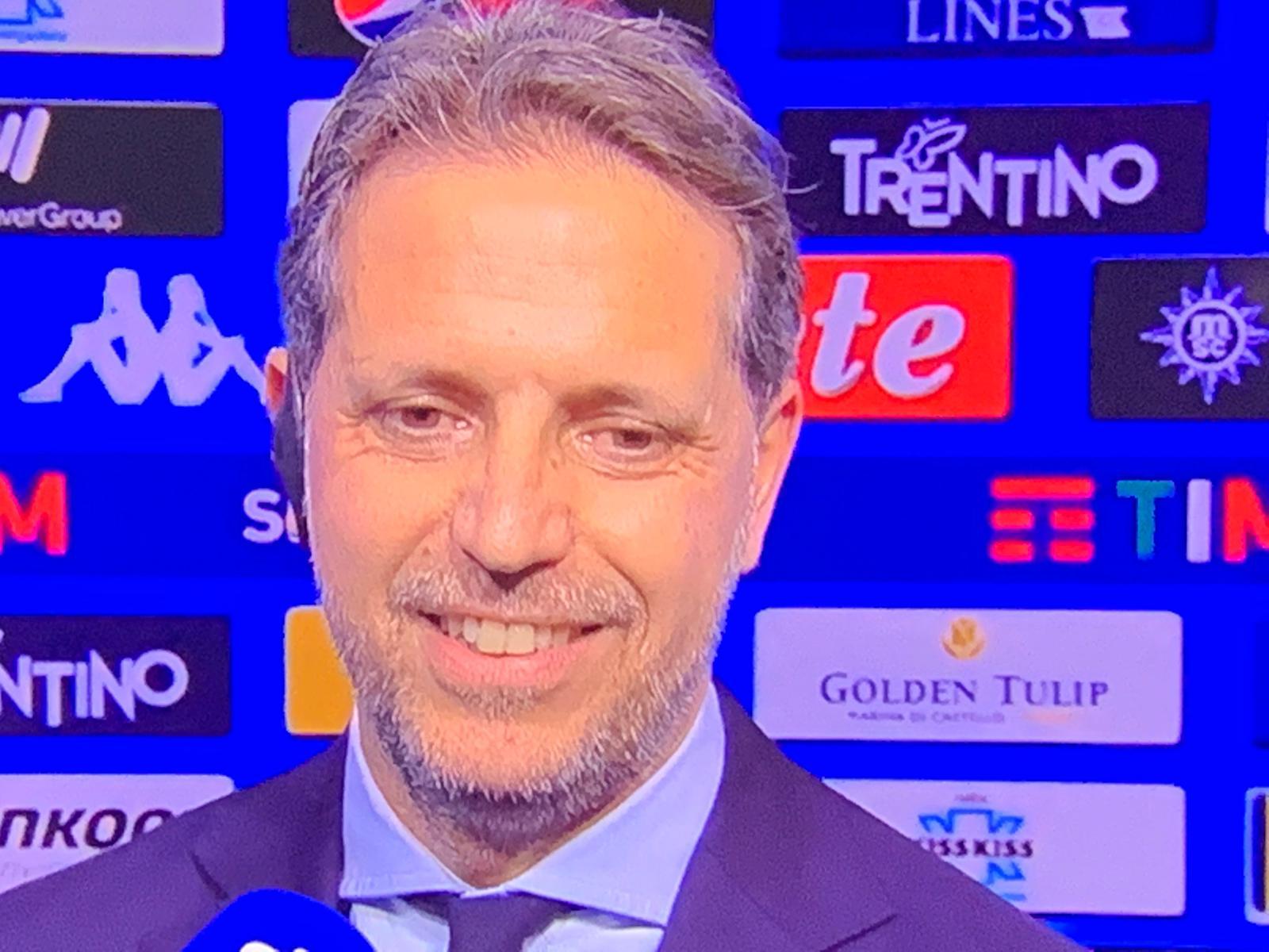 """Paratici: """"Sarri? Alla Juventus siamo tutti in discussione"""""""