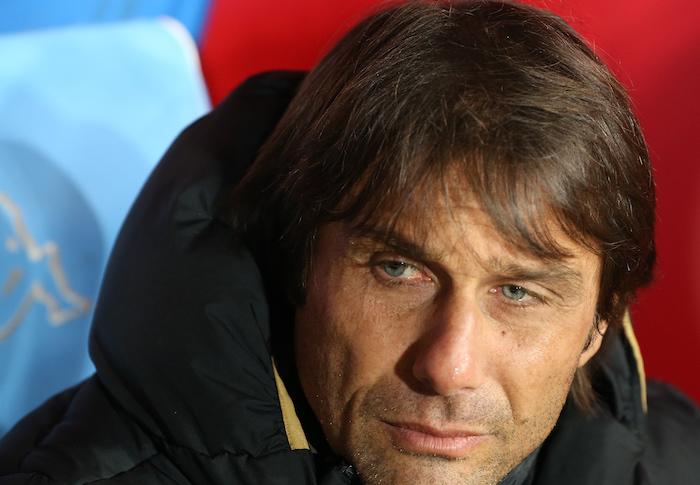 Quella lacrima sul viso di Antonio Conte