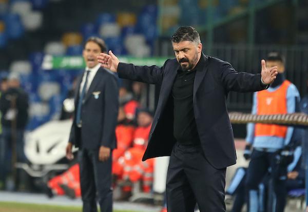 Repubblica: Napoli-Lazio ha confermato la fiducia della squadra per Gattuso
