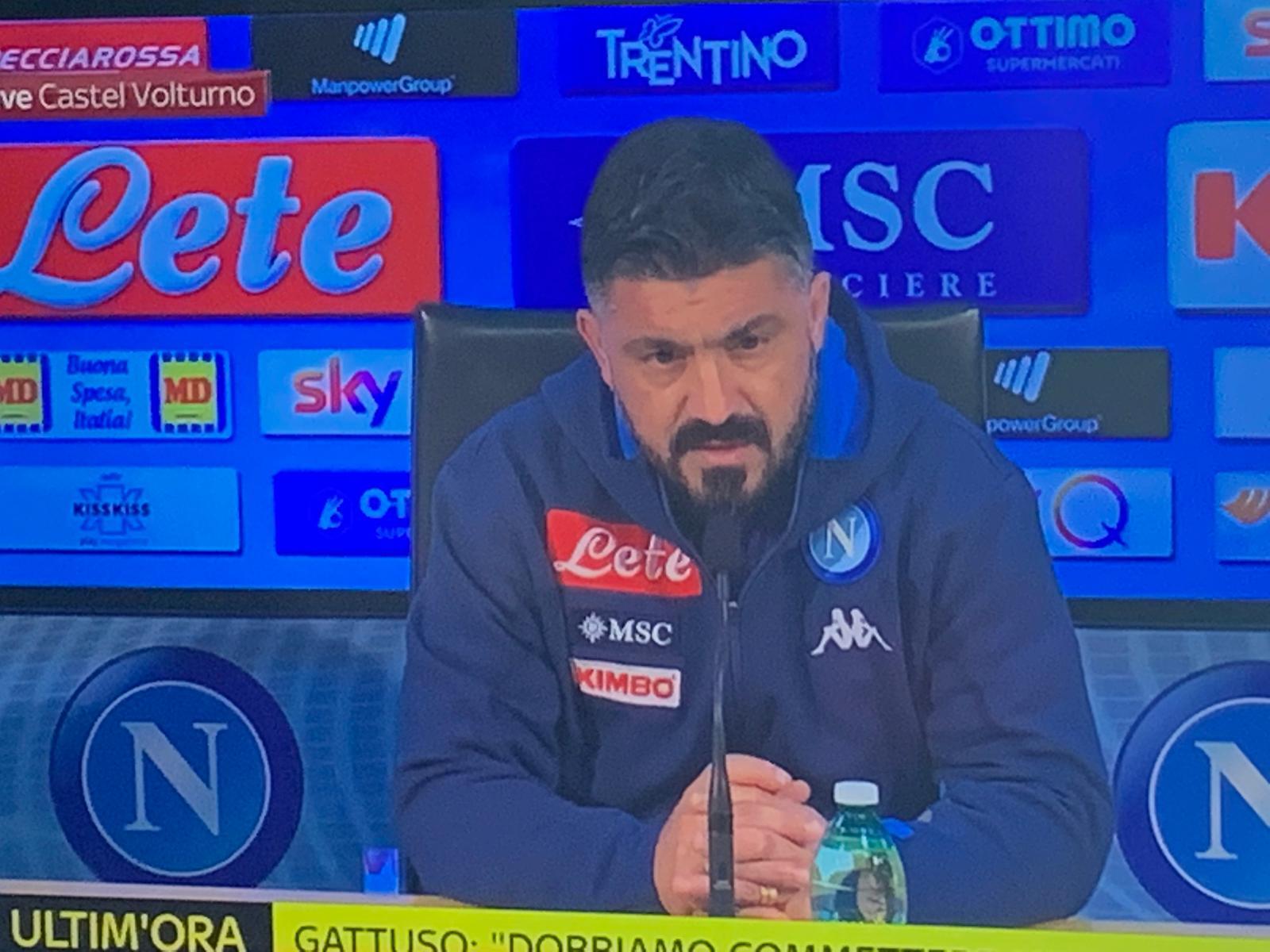 """Gattuso in conferenza: """"Facciamo le persone serie, non fatemi fare l'ignorante"""""""