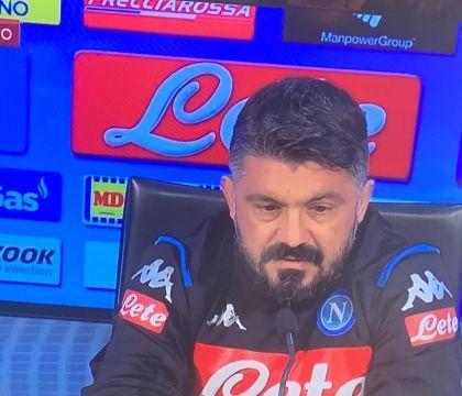 """Gattuso: """"Non posso dire cosa ho detto all'intervallo: ci ce"""
