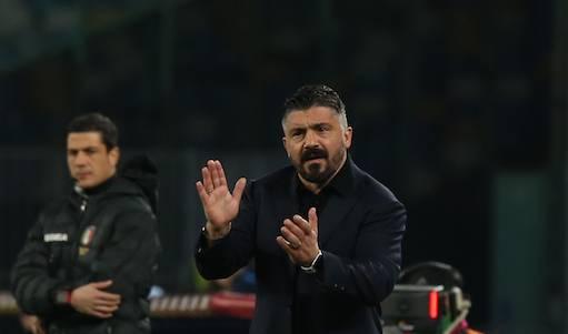 Gattuso: «Per tanto tempo il Napoli è stata una squadra fragile. Non dormo prima dei match»