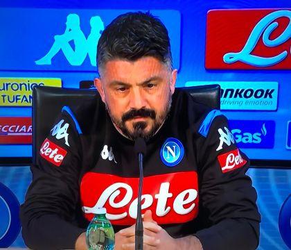 """Gattuso: """"Qualificazione Champions? Era già finita, era un'i"""