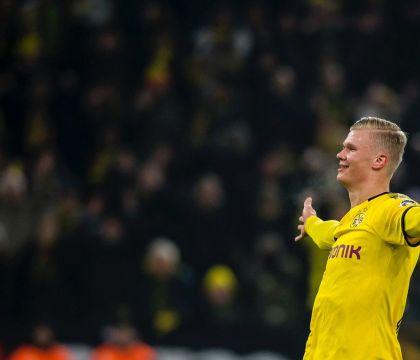 Al Dortmund Haaland ha segnato 5 gol in 60 minuti, uno ogni