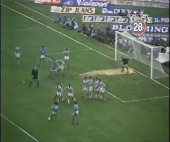 """Quando Maradona disse a Pecci """"passamela indietro"""", e segnò la """"punizione divina"""" contro la Juve"""