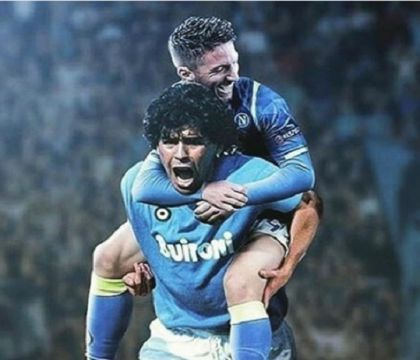 """Mertens ricorda Maradona con le lacrime agli occhi: """"È stato bello vederlo"""""""