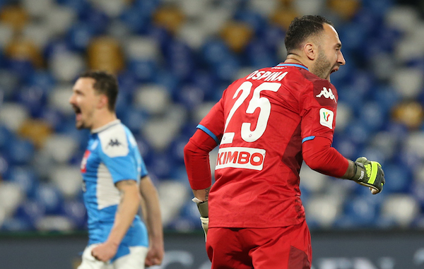 Fa quasi tutto Ospina che consegna al Napoli e a Gattuso la finale contro Sarri. Ma sarà squalificato