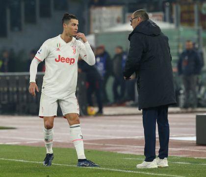 Ronaldo si lamenta con Sarri: vuole più palle da giocare