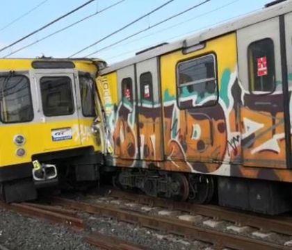 Scontro tra treni in metropolitana, indagato il macchinista