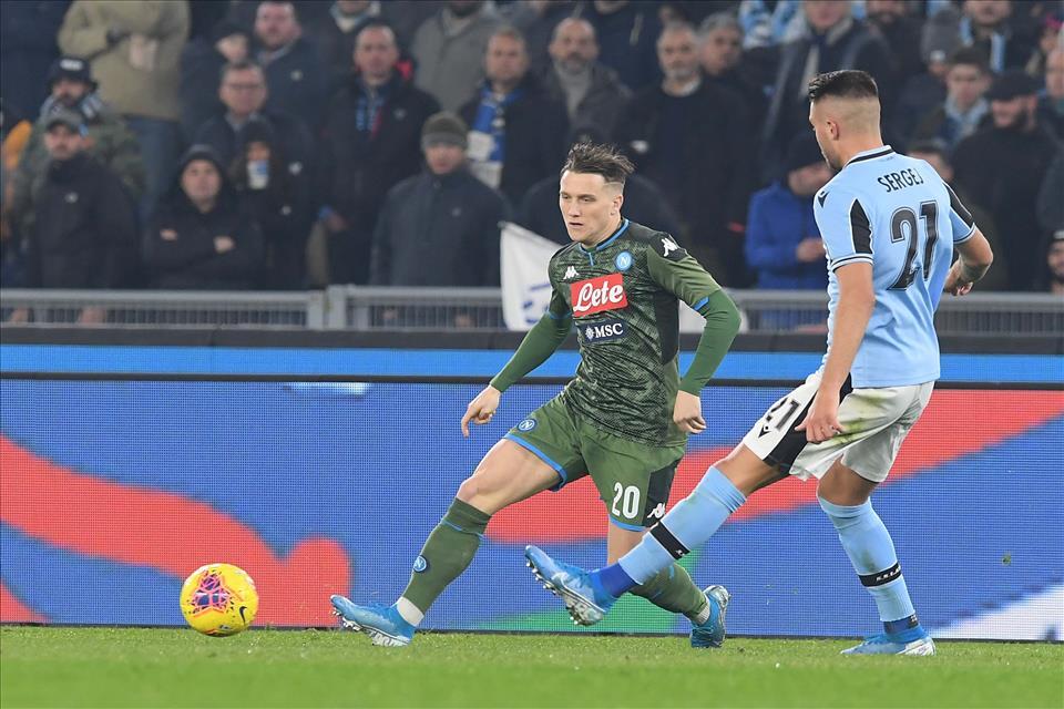 """Zielinski: """"Alla Coppa Italia teniamo tanto, vogliamo arrivare fino in fondo"""""""