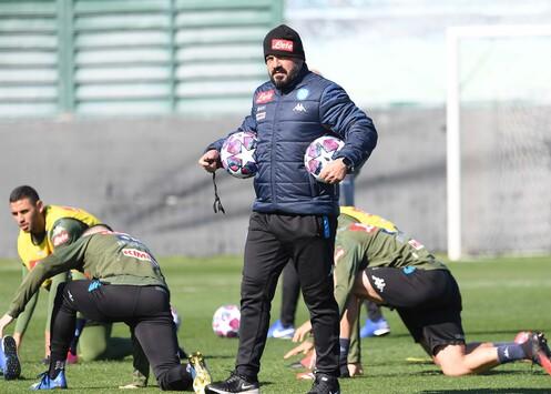 Gattuso: «Voglio vedere un Napoli senza paura, con giocatori che si aiutano»