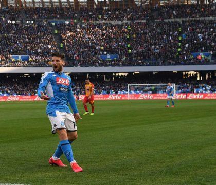 Per Mertens Napoli Barcellona finisce al 53′. Sostituito da