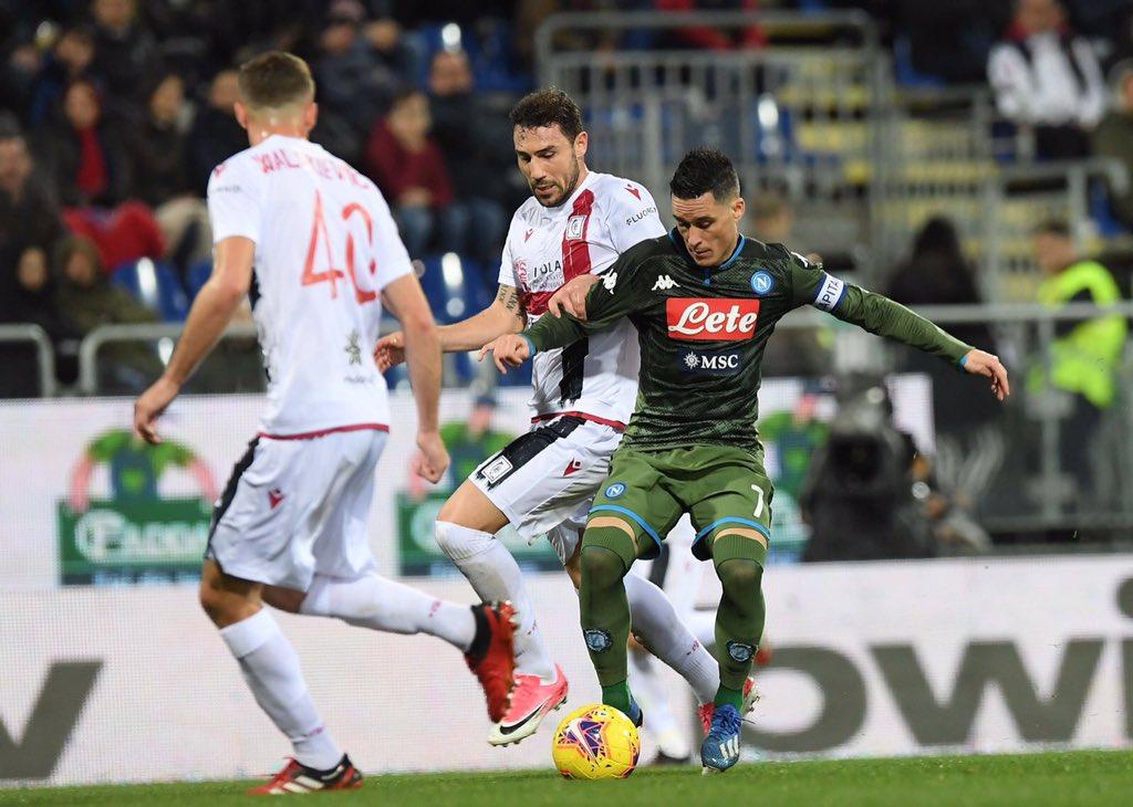 Gattuso si converte al Napoli camaleonte e vince a Cagliari con merito e con perla di Mertens