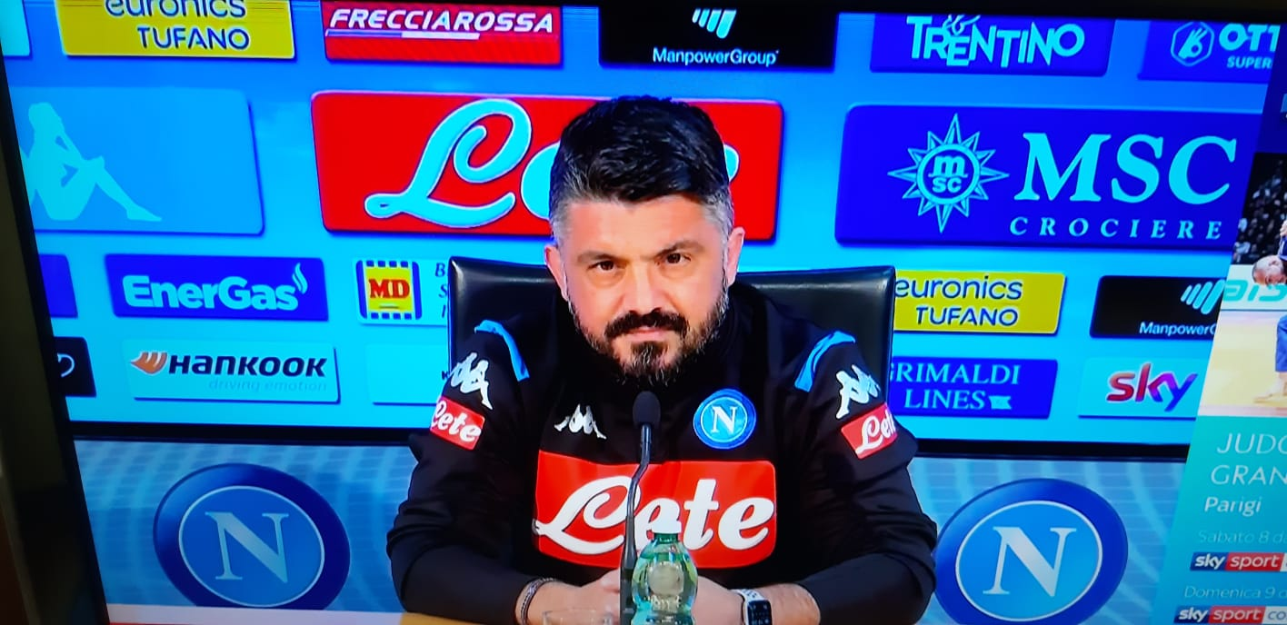 """Gattuso: """"Oggi vedremo se Mertens recupera per domani"""""""