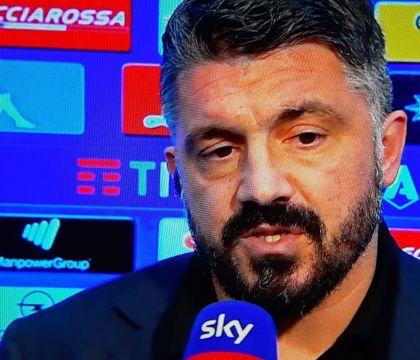 Gattuso: «Se si deve giocare con le mani dietro la schiena n