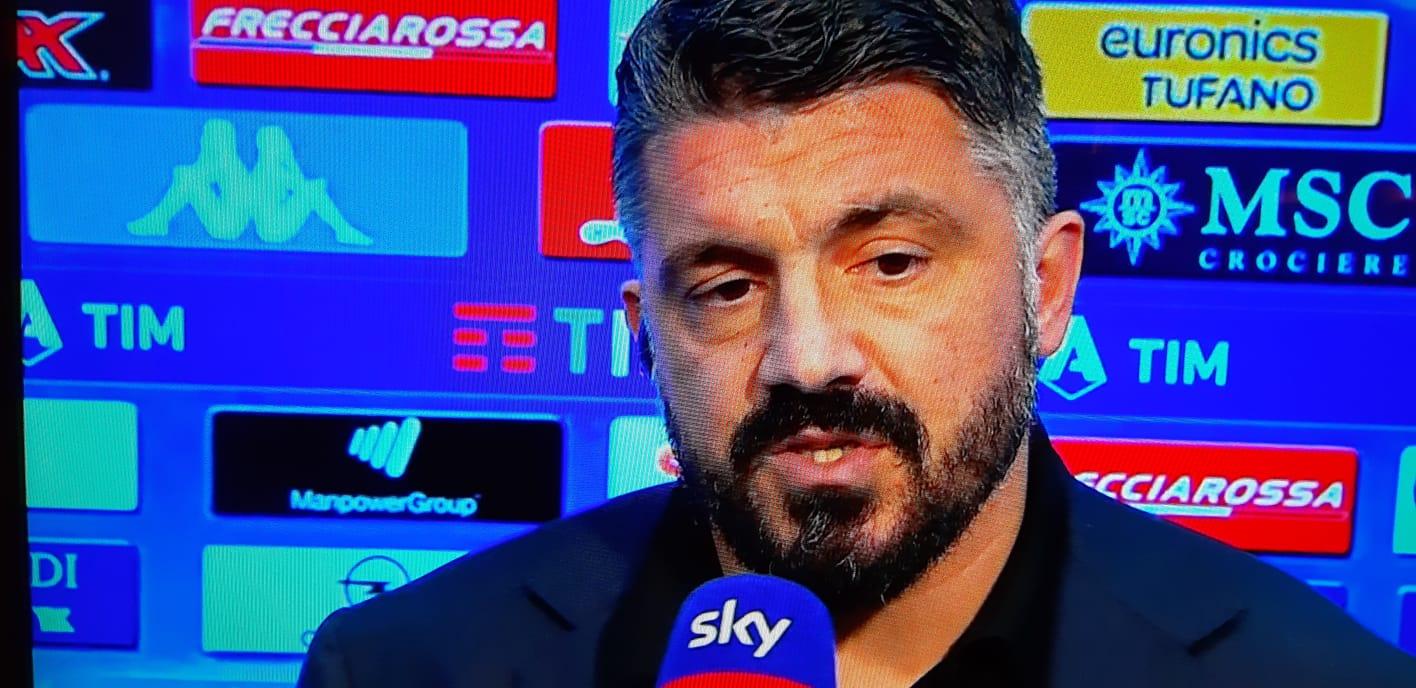 Gattuso: «Se si deve giocare con le mani dietro la schiena non è calcio»