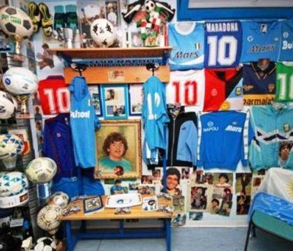 """La sorpresa del Mundo Deportivo """"il museo di Maradona in un"""