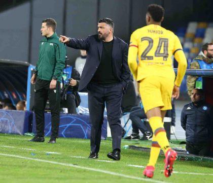 Gattuso: «Non è affatto finita, a Barcellona ce la giocherem