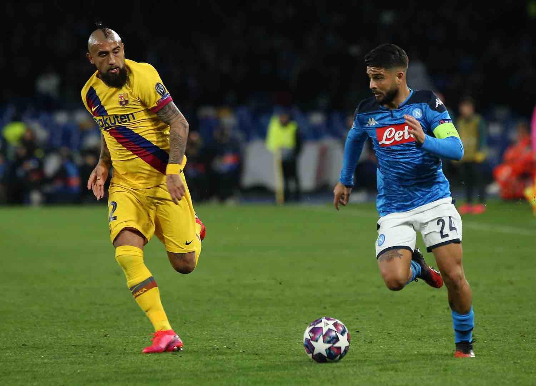 Vidal: aggrediamo il Napoli, lanciamo un messaggio per il futuro