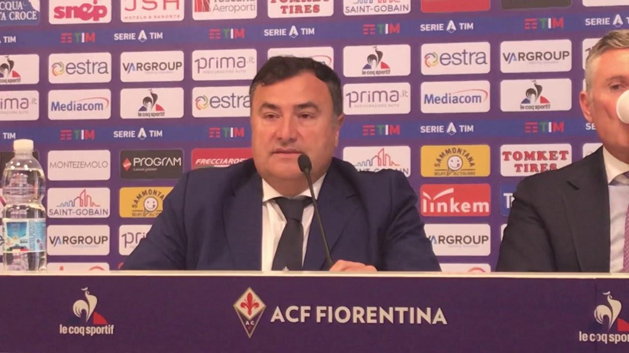 """Gazzetta: Barone e Pradè a colloquio con la Fiorentina. """"Basta alibi. I big aiutino il gruppo"""""""