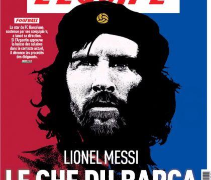 """Messi """"Che Guevara"""" si abbassa lo stipendio e guida la rivol"""