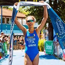 L'azzurra di triathlon Seregni bloccata a San Siro dalla pol