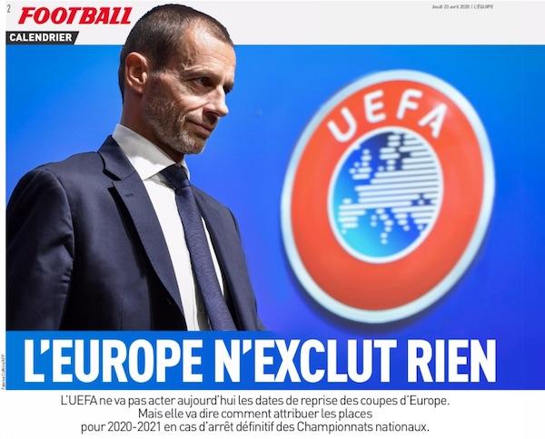 Superlega, la Uefa condanna i nove club pentiti alla beneficenza obbligatoria (1,6 milioni a testa)