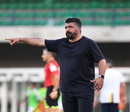 Napoli, Gattuso lancia Osimhen titolare contro il Genoa