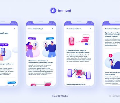Immuni, l'app per il contact tracing è disponibile sugli sto