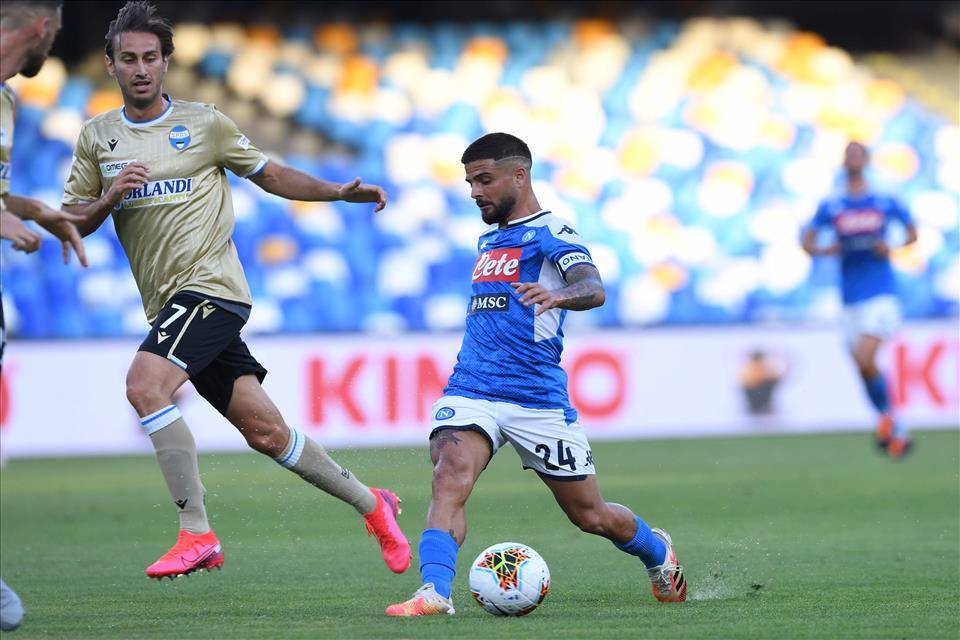 CorSport: Insigne insegue la doppia cifra in campionato, all'Atalanta non ha mai segnato