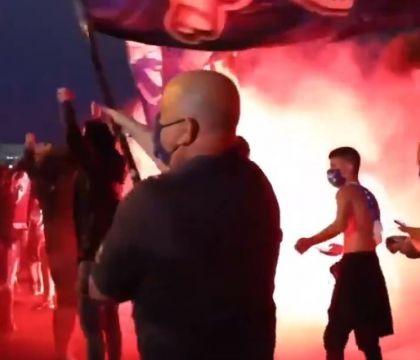 Trecento tifosi del Porto seguono la squadra in trasferta (e