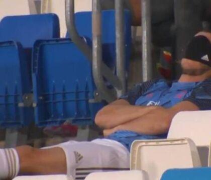 Il Real Madrid è così noioso che Bale si addormenta in panchina