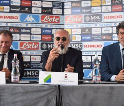Il Napoli presenta in conferenza il ritiro 2020 a Castel di