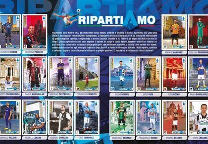 Mini-album speciale Panini con soli 20 giocatori: per il Napoli c'è Demme