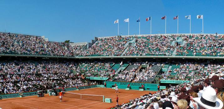 Roland Garros, sì al pubblico ma con le arene a capienza ridotta della metà