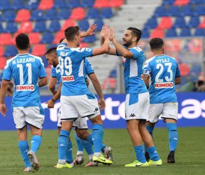 Bologna Napoli 1 1, pagelle / Il Napoli segna e poi si limit