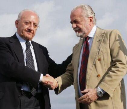 Damascelli |  De Laurentiis come Totò |  vota De Luca al posto di vota Antonio