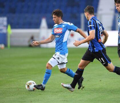 """Il Napoli: """"L'Atalanta vince 2 0 e chiude virtualmente il di"""