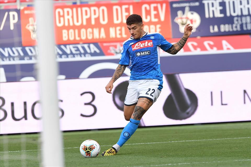 Di Lorenzo e Okaka salteranno Napoli-Udinese per squalifica