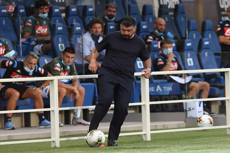Gattuso: «Ho visto il rigore, non mi va giù»