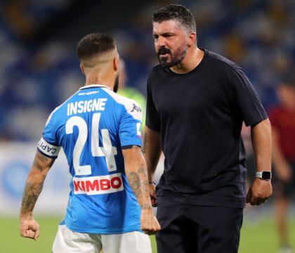 Le 10 cose da ricordare di Napoli Roma: il gol a giro di Ins